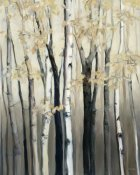 Marilyn Hageman - Golden Birch I