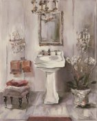 Marilyn Hageman - French Bath III Gray and Blush