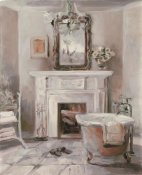 Marilyn Hageman - French Bath IV Gray and Blush