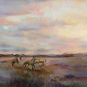 Marilyn Hageman - Mustangs Under Big Sky