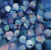 Marilyn Hageman - Midnight Blue Hydrangeas