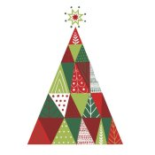 Michael Mullan - Geometric Holiday Trees I