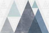 Michael Mullan - Mod Triangles I Blue