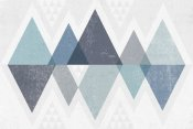 Michael Mullan - Mod Triangles II Blue