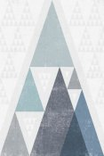 Michael Mullan - Mod Triangles III Blue