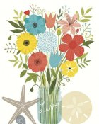 Michael Mullan - Seaside Bouquet I Mason Jar