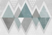 Michael Mullan - Mod Triangles II Grey