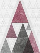 Michael Mullan - Mod Triangles III Soft Pink