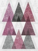 Michael Mullan - Mod Triangles IV Soft Pink