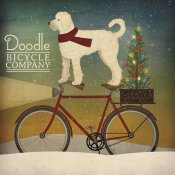 Ryan Fowler - White Doodle on Bike Christmas