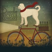 Ryan Fowler - White Doodle on Bike Summer
