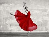 Haute Photo Collection - Ballerina in Red