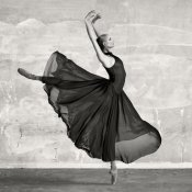Haute Photo Collection - Ballerina Dancing (detail)