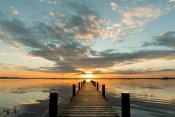 Pangea Images - Morning Lights on a Jetty