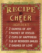 Pela Studios - Holiday Recipes I Gold and Red