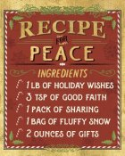 Pela Studios - Holiday Recipes II Gold and Red