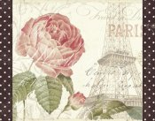 Pela Studios - La Vie En Rose I with Border