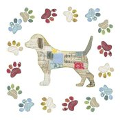 Courtney Prahl - Good Dog IV Sq with Border
