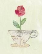 Courtney Prahl - Teacup Floral I