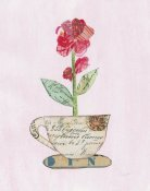 Courtney Prahl - Teacup Floral IV