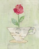 Courtney Prahl - Teacup Floral I on Print