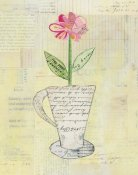 Courtney Prahl - Teacup Floral II on Print