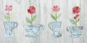 Courtney Prahl - Teacup Floral V Shiplap