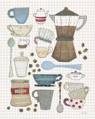 Courtney Prahl - Coffee Chart I v2 Gingham