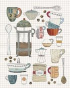 Courtney Prahl - Coffee Chart II v2 Gingham