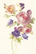 Danhui Nai - Watercolor Flowers I