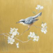 Danhui Nai - Nuthatch on Gold