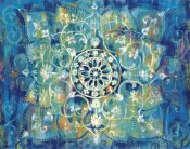 Danhui Nai - Mandala in Blue I Bright