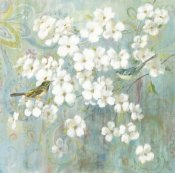 Danhui Nai - Spring Dream II Teal Bird