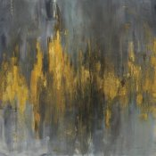 Danhui Nai - Black and Gold Abstract