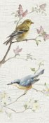 Danhui Nai - Vintage Birds Panel I