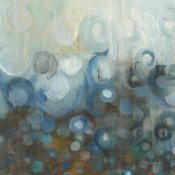 Danhui Nai - Blue and Bronze Dots VII