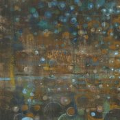 Danhui Nai - Blue and Bronze Dots IX