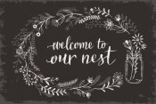 Janelle Penner - Our Nest I Black