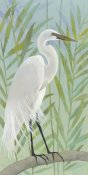 Kathrine Lovell - Egret by the Shore I
