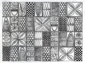 Kathrine Lovell - Patterns of the Amazon II BW