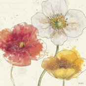Katie Pertiet - Painted Poppies IV