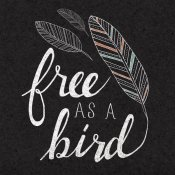 Laura Marshall - Free as a Bird Black