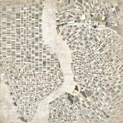 Laura Marshall - Neutral New York Map