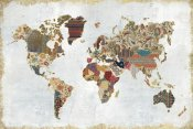 Laura Marshall - Pattern World Map