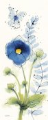 Shirley Novak - Independent Blooms Blue V