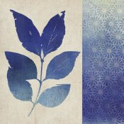 Studio Mousseau - Indigo Leaves I