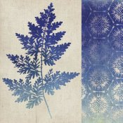 Studio Mousseau - Indigo Leaves III