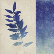 Studio Mousseau - Indigo Leaves IV