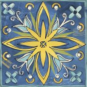 Anne Tavoletti - Tuscan Sun Tile I Color