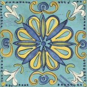 Anne Tavoletti - Tuscan Sun Tile IV Color